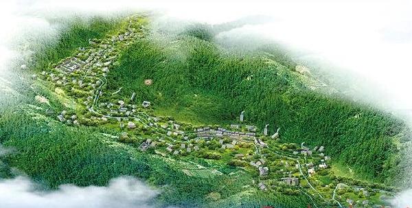 清平乐村居的���#_醴陵陶瓷发祥地沩山村建设\
