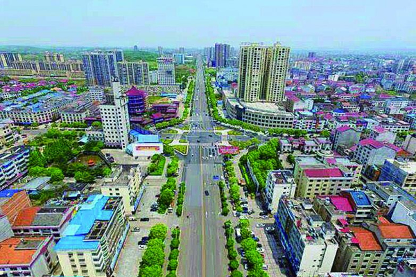 攸县网岭工业园规划图