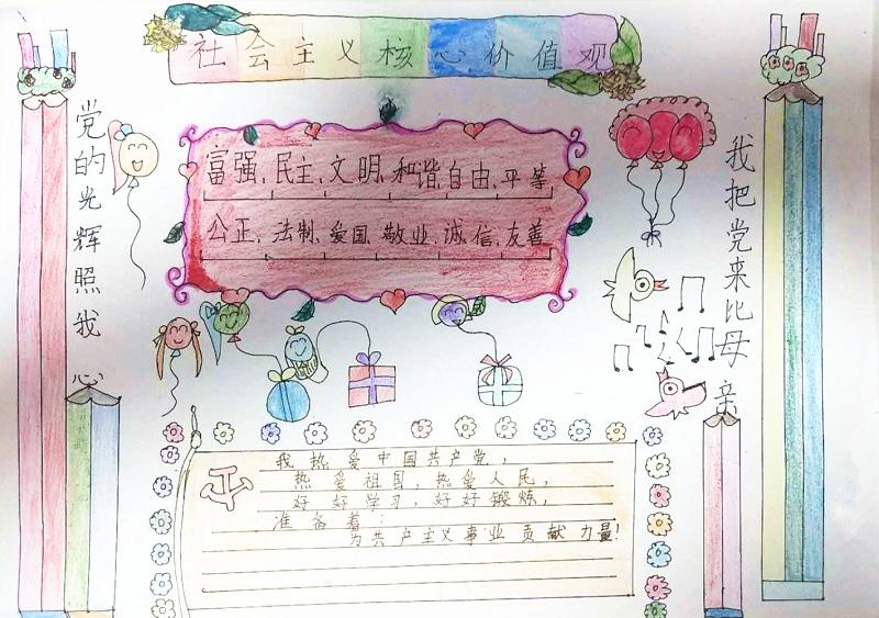 【童画新时代-手绘价值观作品展】吴添羽/石峰区